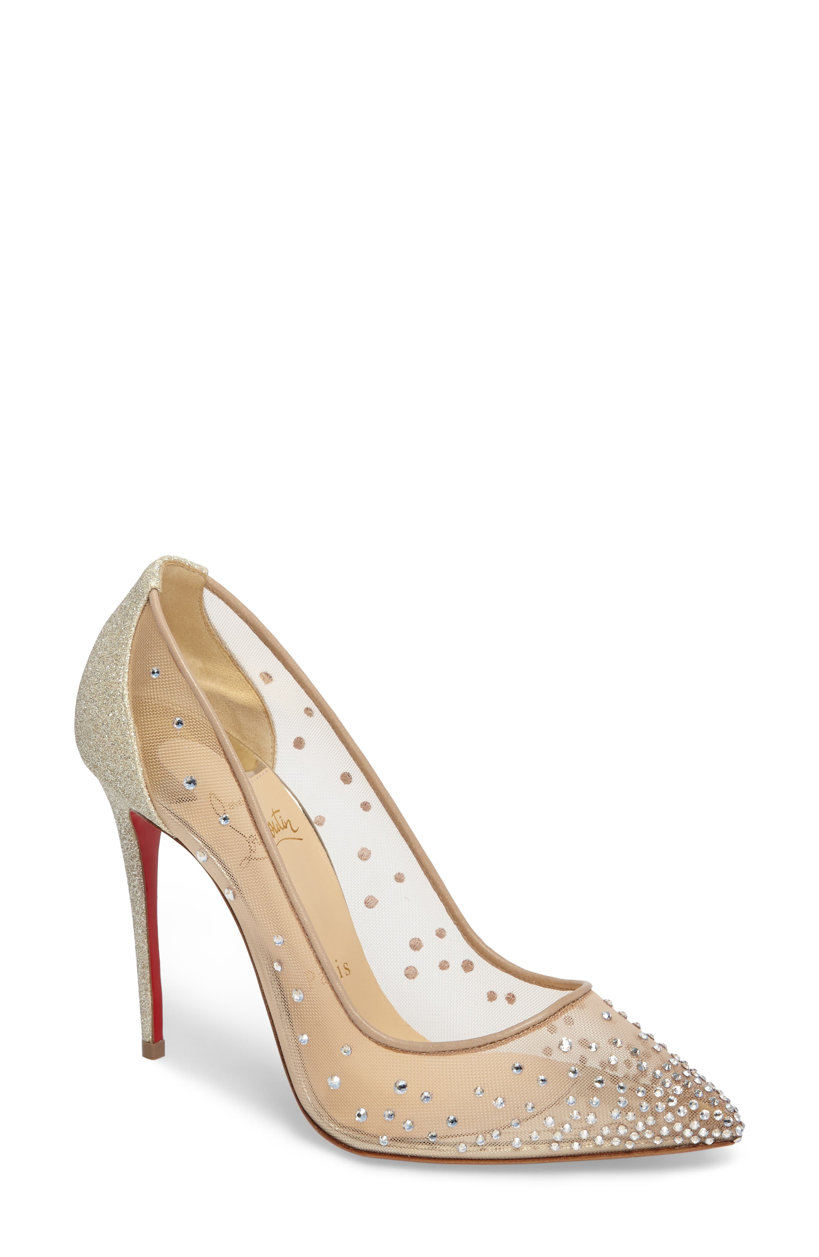 Christian Louboutin Follies Strass Pump (Women)